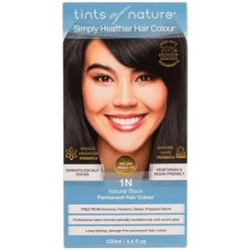 1 verpakking Tints of Nature 1N Natural Black