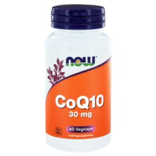 60 capsules NOW Foods CoQ10 30 mg