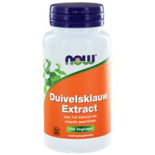 100 capsules NOW Foods Duivelsklauw Extract 500 mg