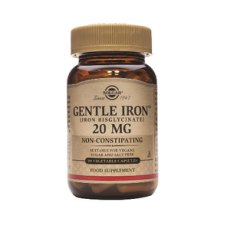 90 capsules Solgar Gentle Iron 20 mg