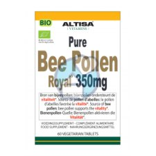 60 tabletten Altisa Pure Bee Pollen Royal 350 mg Biologisch