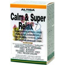 60 tabletten Altisa Calm & Super Relax 7