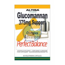 60 capsules Altisa Glucomannan 375 mg Support
