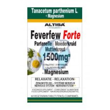 60 tabletten Altisa Feverfew Forte Moederkruid  mg