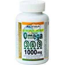 100 softgels Altisa Omega 3-6-9 1000 mg