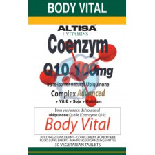 30 tabletten Altisa Coenzym Q10 100 mg