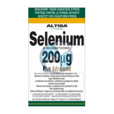 60 tabletten Altisa Selenium 200 mcg Plus Advanced