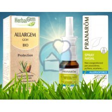 15 + 50 ml Pranarôm Allergoforce Neuspray + Allargem Beschermingscomplex GC01