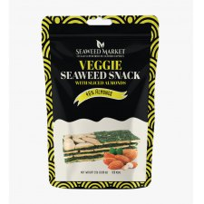 25 gram Seaweed Market Veggie Seaweed Snack with Almonds