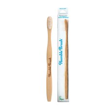 1 exemplaar Humble Brush Tandenborstel Bamboe Adult Soft Wit