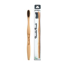 1 exemplaar Humble Brush Tandenborstel Adult Soft Zwart