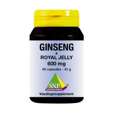 60 capsules SNP Ginseng + Royal Jelly 600 mg