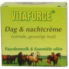 50 ml Vitaforce Paardenmelk Dag & Nachtcrème