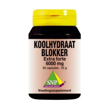 60 capsules SNP Koolhydraat Blokker Extra Forte 6000 mg