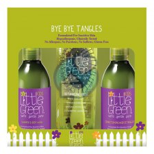 1 set Little Green Kids Bye Bye Tangles met Borstel