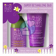 1 set Little Green Kids Super Detangling Duo