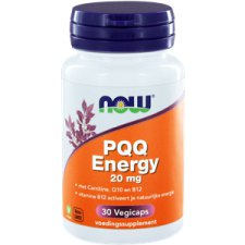 30 capsules NOW Foods PQQ Energy 20 mg