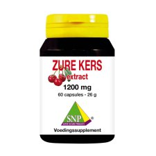60 capsules SNP Zure Kers Extract 1200 mg
