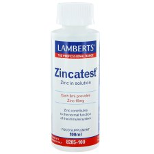 100 ml Lamberts Zincatest