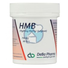 120 tabletten DeBa Pharma HMB Hydroxy-Methyl-Butyraat 750 mg