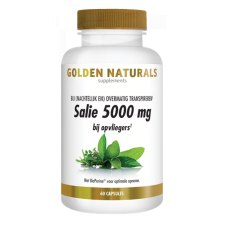 60 capsules Golden Naturals Salie 5000 mg
