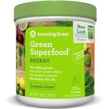 210 gram Amazing Grass Green Superfood Energy Lemon-Lime