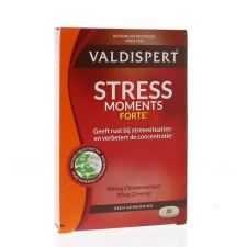 20 tabletten Valdispert Stress Moments Forte