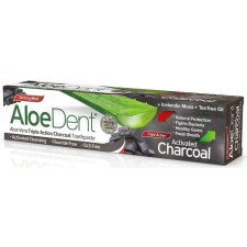 100 ml AloeDent Aloe Vera Triple Action Charcoal Toothpaste Fluoride Free