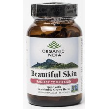 90 capsules Organic India Beautiful Skin