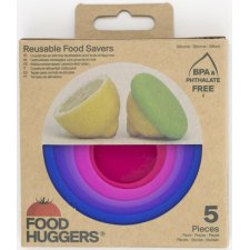 5 pieces Food Huggers Bright Berry