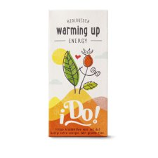 20 zakjes I Do Warming Up Energy Thee Biologisch