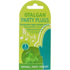 1 paar Otalgan Party Plugs