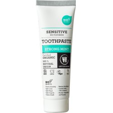 75 ml Urtekram Toothpaste Sensitive Strong Mint No Fluoride