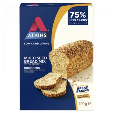 400 gram Atkins Multi Seed Bread Mix Broodmix
