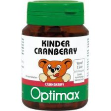 60 tabletten Optimax Kinder Cranberry