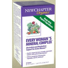 90 tabletten NewChapter Every Womans Mineral Complex
