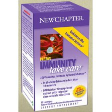 30 tabletten NewChapter Immunity Take Care