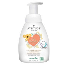 295 ml Attitude Baby Leaves 2-in-1 Hair & Body Foaming Wash