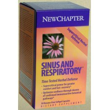 30 capsules NewChapter Sinus And Respiratory