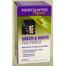 60 softgels NewChapter Green White Thea