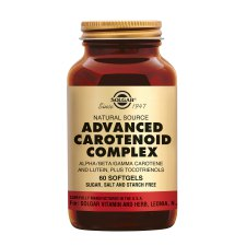 60 softgels Solgar Advanced Carotenoid Complex