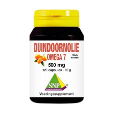 120 capsules SNP Duindoornolie Omega 7 500 mg