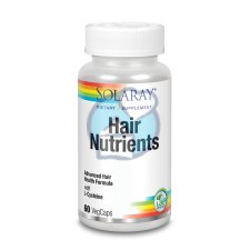 60 capsules Solaray Hair Nutrients