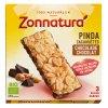 3 x 45 gram Zonnatura Pinda Chocolade Reep Biologisch