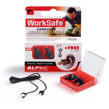 1 paar Alpine WorkSafe Earplugs
