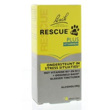 20 ml Bach Rescue Pets Plus Vitaminen Spray