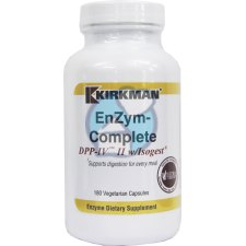 180 capsules Kirkman EnZym-Complete/DPP-IV II with Isogest
