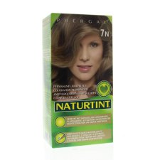 165 ml Naturtint Permanente Haarkleur 7N Hazelnoot Blond