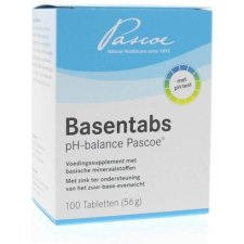 100 tabletten Pascoe Basentabs met pH-Test