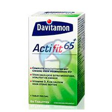 60 tabletten Davitamon Actifit 65+